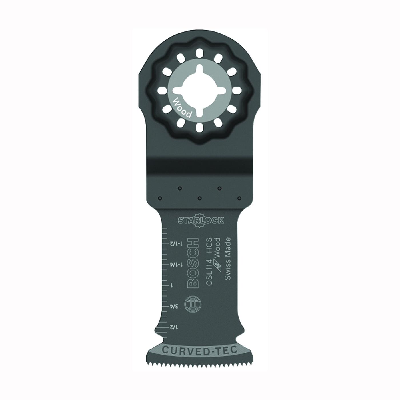 Picture of Bosch Starlock OSL114 Oscillating Blade, 1-1/4 in, HCS