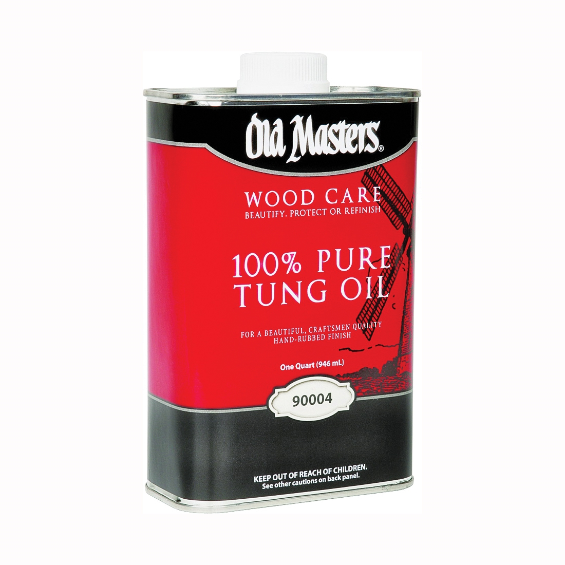 Picture of Old Masters 90004 Tung Oil, Liquid, 1 qt, Can