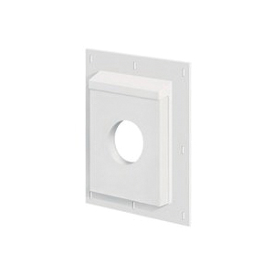 Picture of BUILDERS EDGE SturdiMount SMU811TW4 Mounting Block, 11-9/16 in W, Steel, White