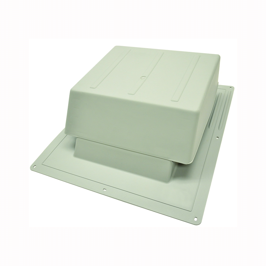 Picture of Master Flow IR65G Roof Louver, 5.88 in L, 18 in W, Resin, Gray