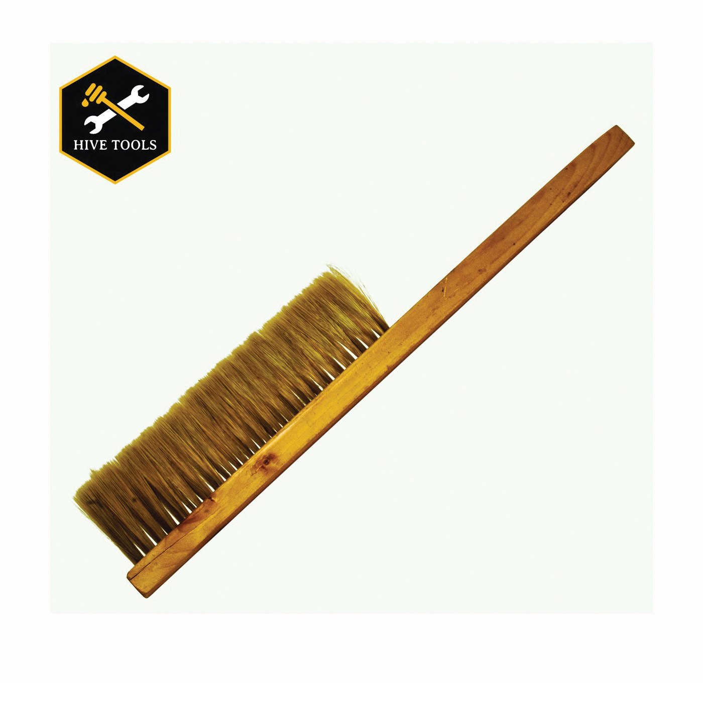 Picture of HARVEST LANE HONEY TOOL-102 Bee Brush, 15 in L, Wood