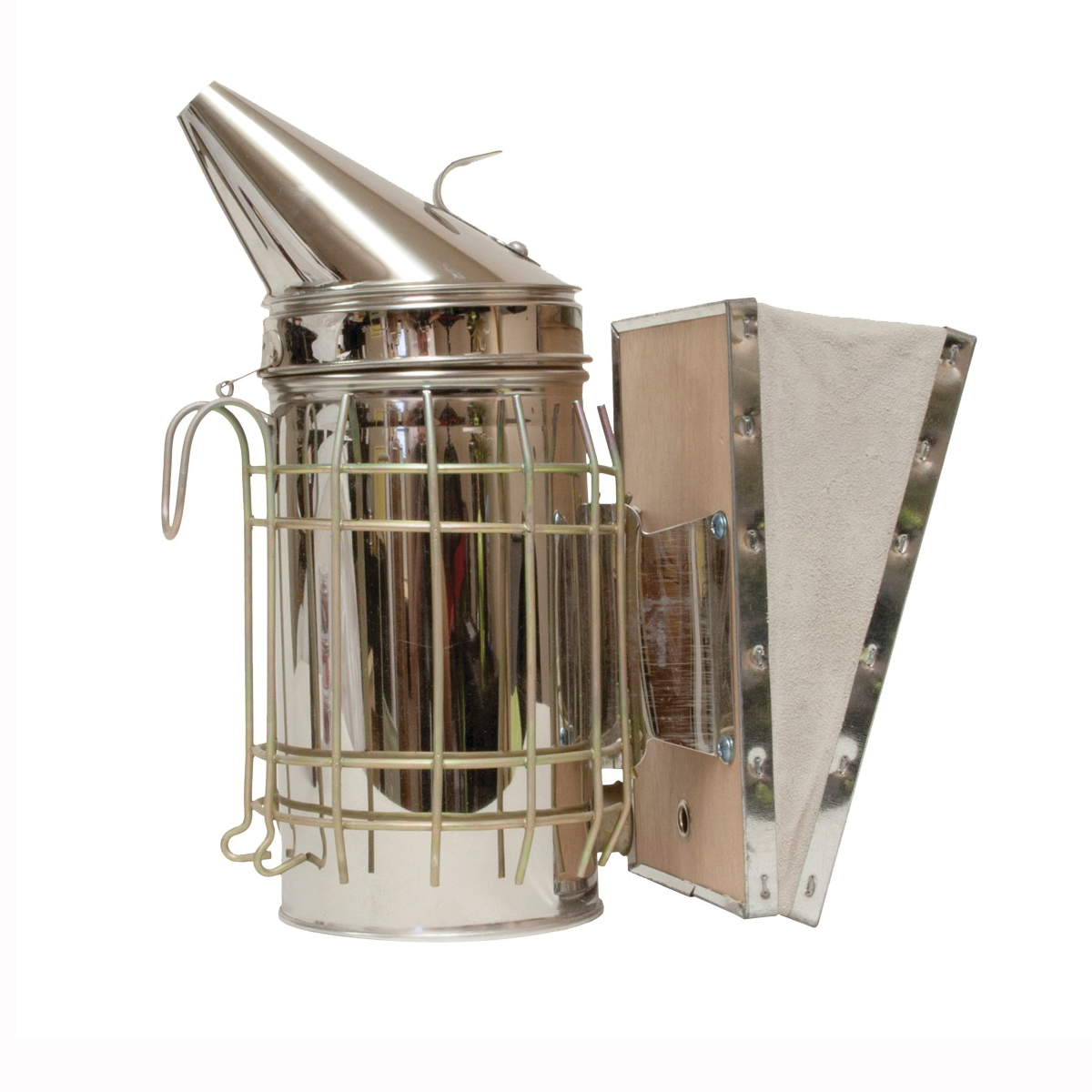 Picture of HARVEST LANE HONEY SMK3-101 Bee Smoker, Steel, For: Bee Keepers