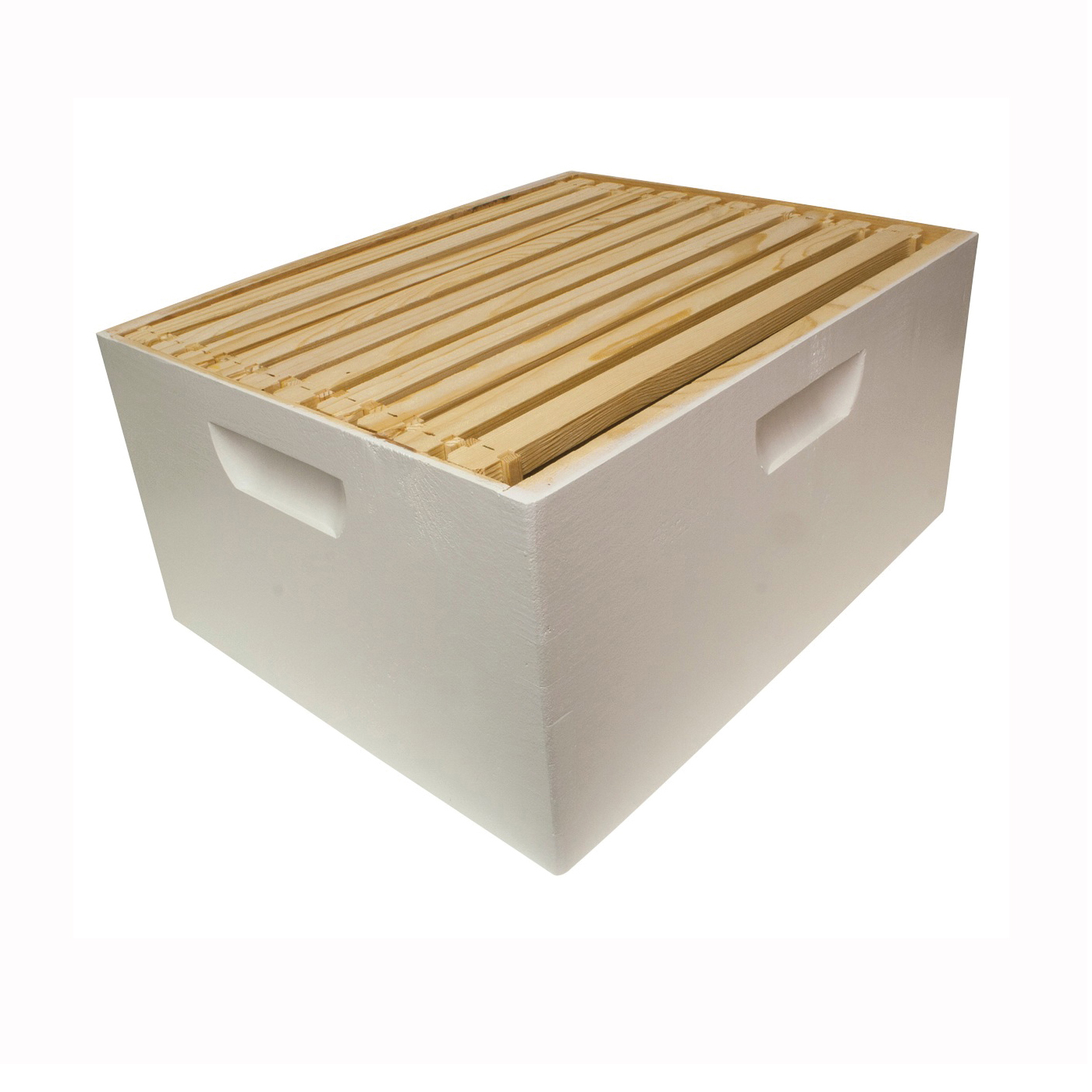 Picture of HARVEST LANE HONEY WWBCD-101 Beehive Box, 10-Frame, Wax Frame