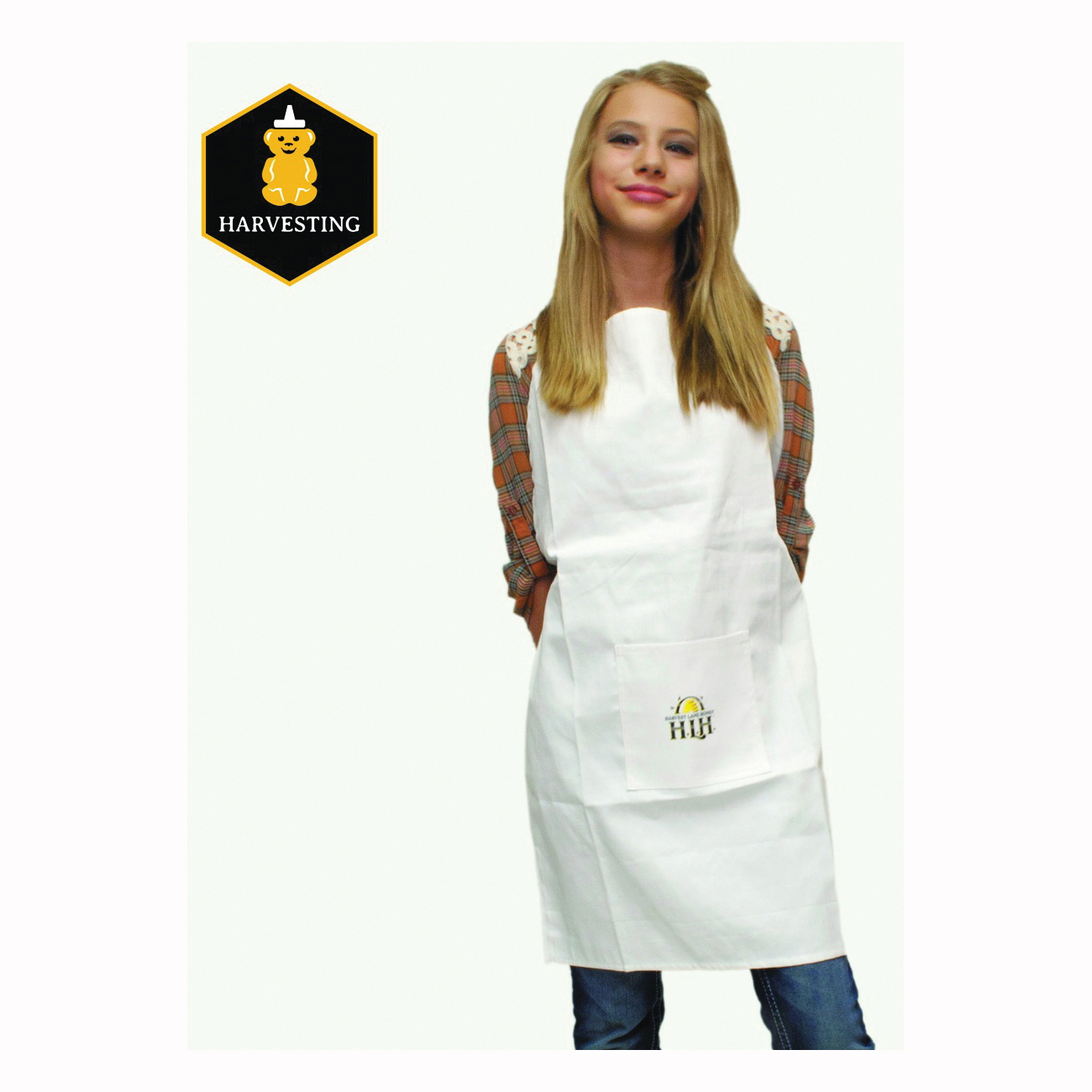 Picture of HARVEST LANE HONEY HONEYA-105 Extraction Apron, Polycotton