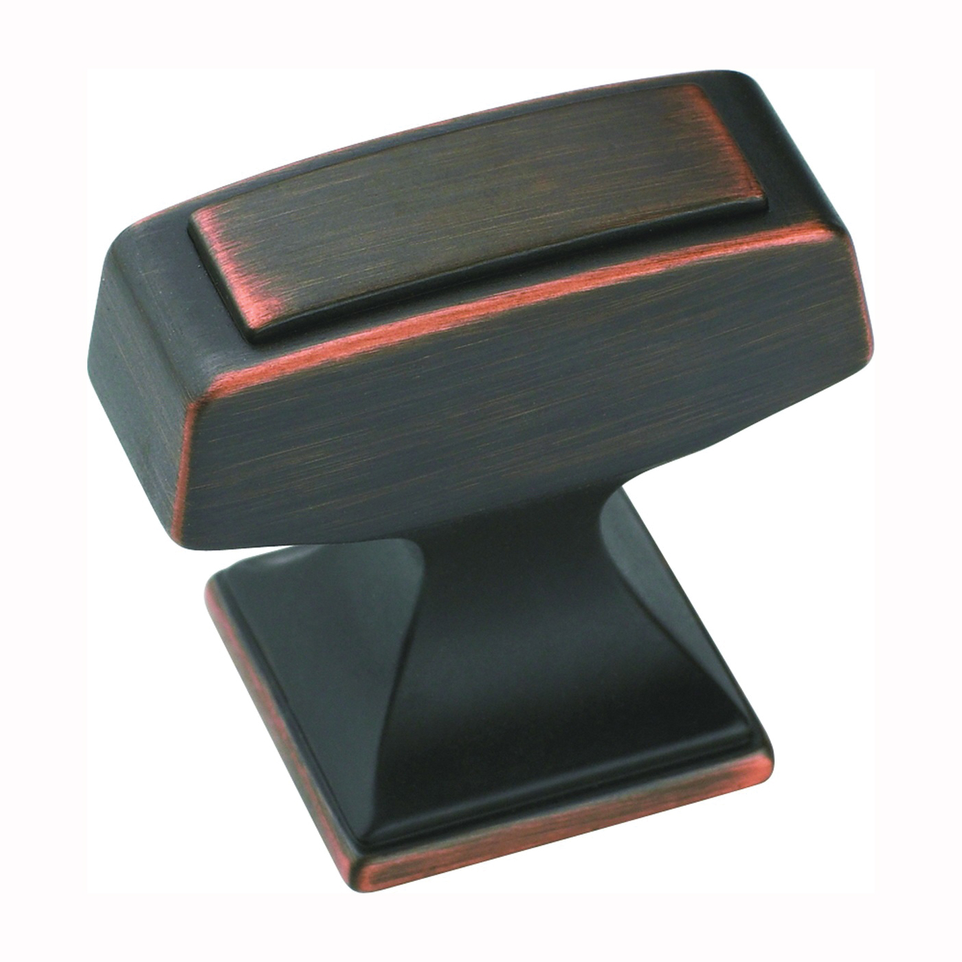 Picture of Amerock BP53029ORB Cabinet Knob, 1-3/16 in Projection, Zinc, Oil-Rubbed Bronze