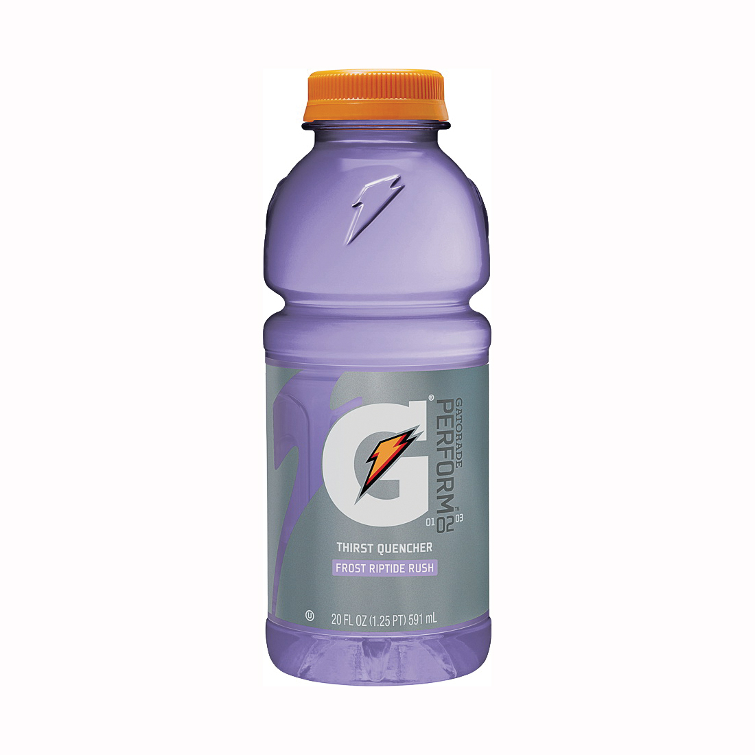 Picture of Gatorade G 32488 Thirst Quencher Sports Drink, Liquid, Riptide Rush Flavor, 20 oz Package, Bottle