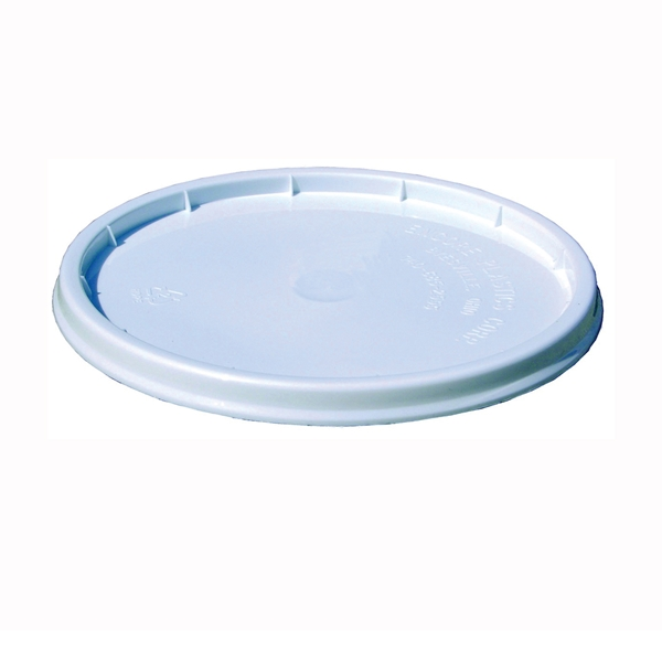 Picture of ENCORE Plastics 10000 Pry-Off Lid, HDPE, White