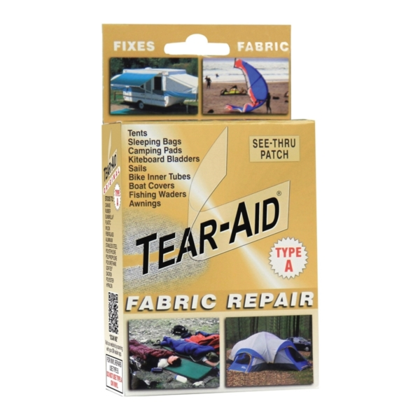 Picture of TEAR-AID D-KIT-A01-100 Fabric Repair Kit, A, Clear