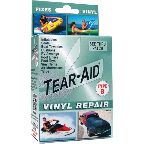 Picture of TEAR-AID D-KIT-B01-100 Vinyl Repair Kit, B