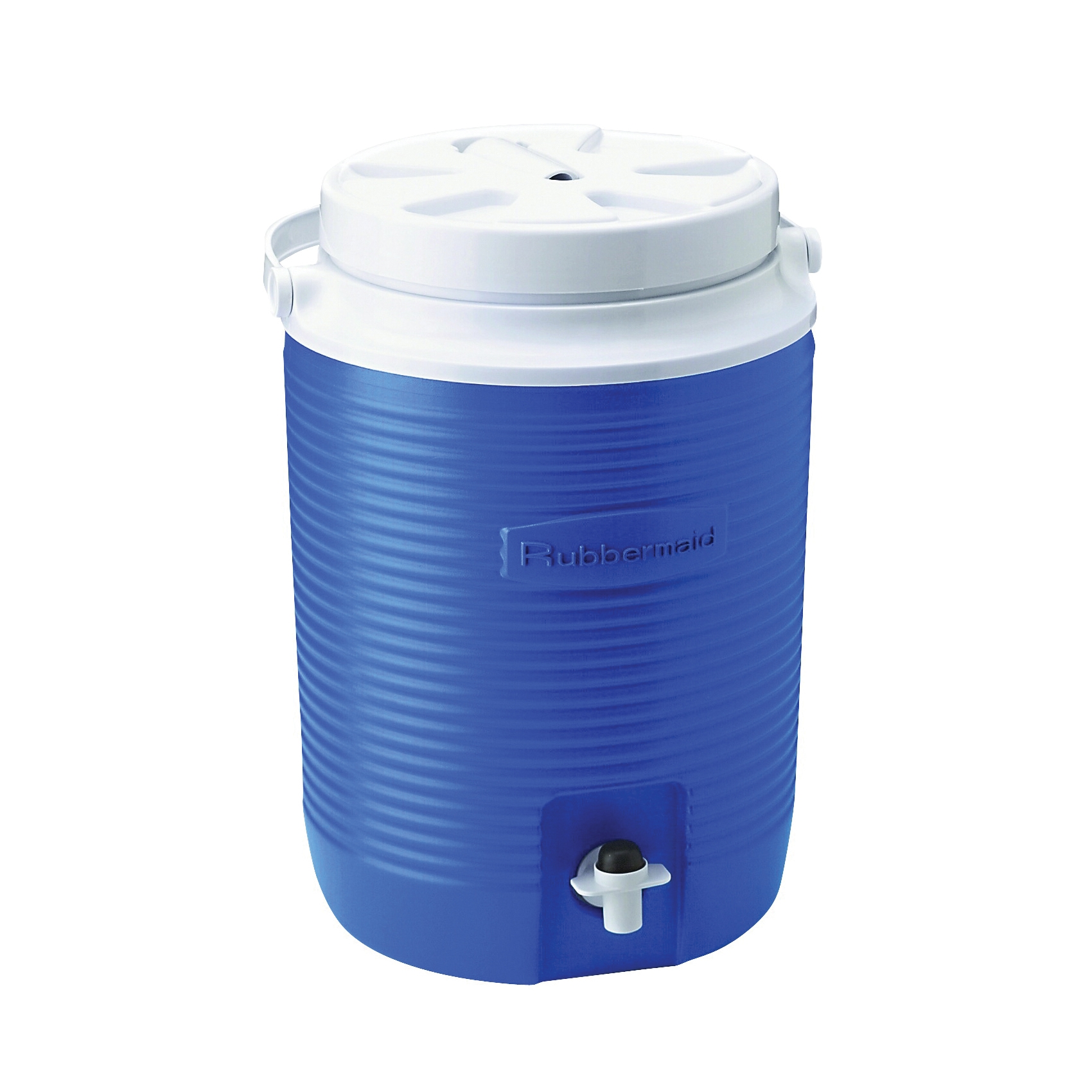 Picture of Rubbermaid 1530-04-MODBL Water Cooler Jug, 2 gal Capacity, Polyethylene, Modern Blue