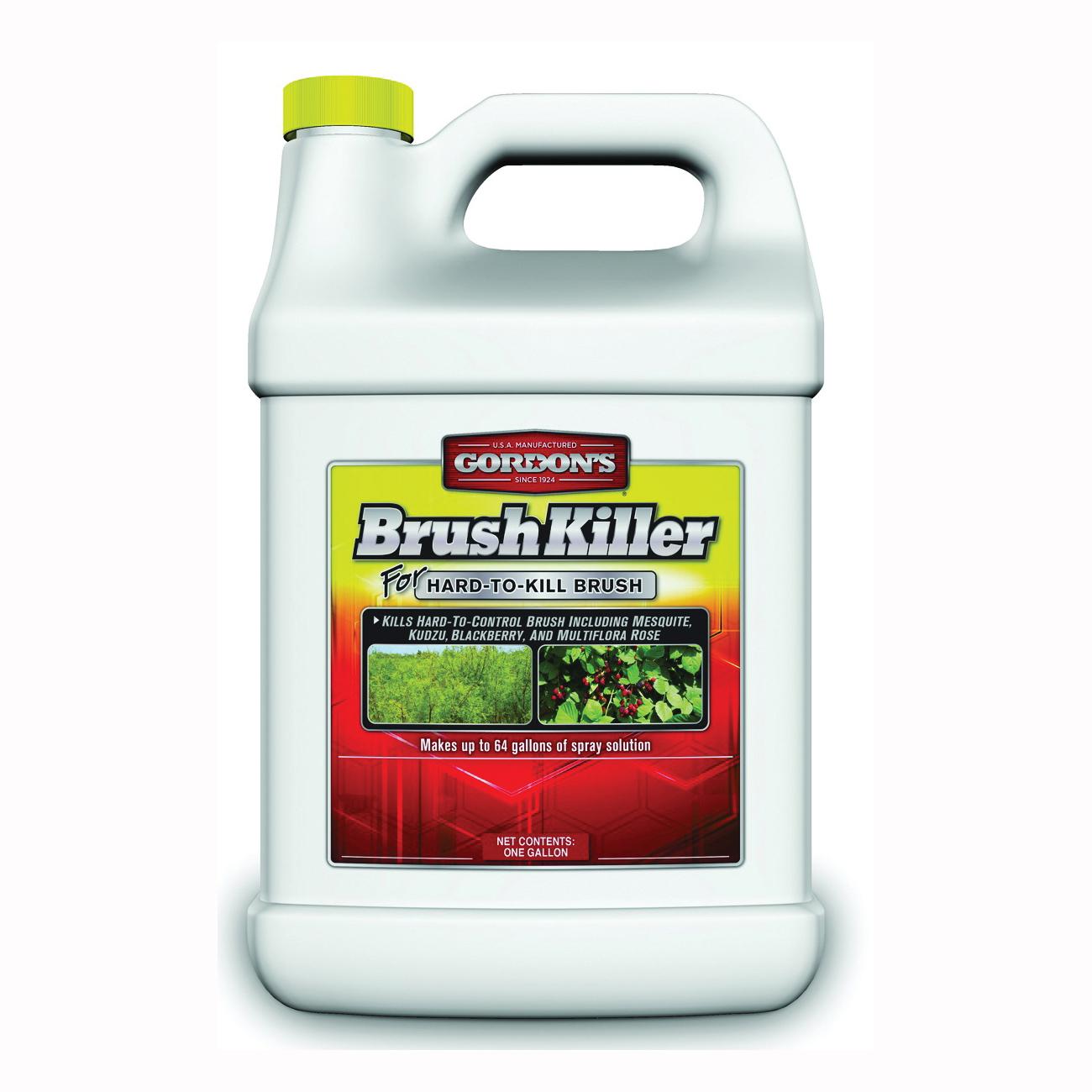 Picture of Gordon's 2511072 Brush Killer, Liquid, Light Yellow, 1 gal Package