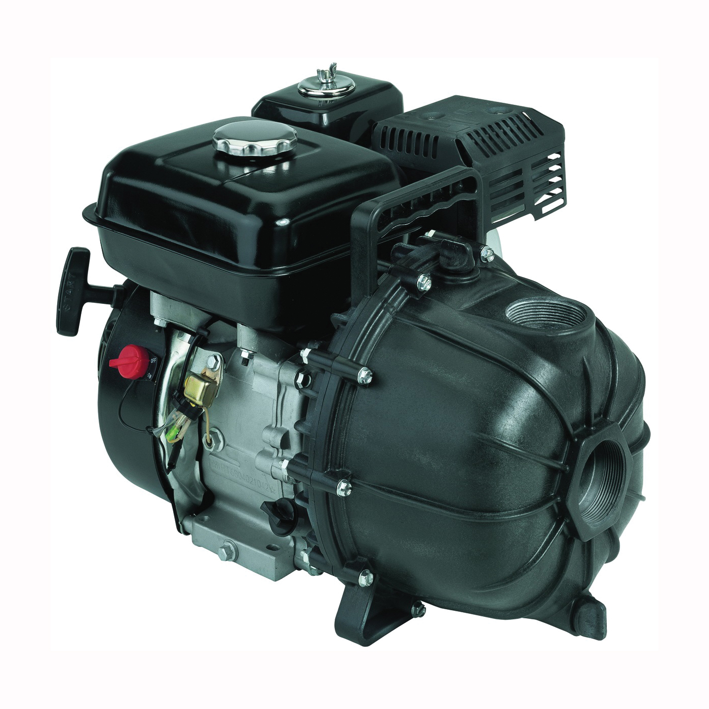 Picture of Flotec FP5455 Gas Engine Pump, 6.5 hp, 2 in Outlet, 144 gpm, Thermoplastic