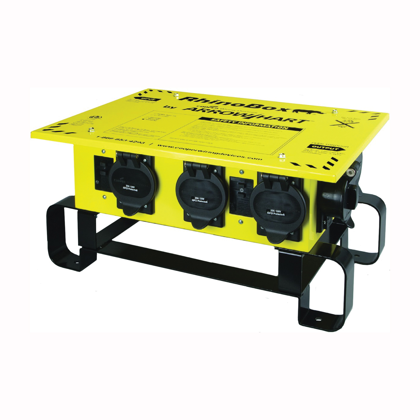 Picture of Arrow Hart Rhino Box RB300ME GFCI Power Center, 120/240 V