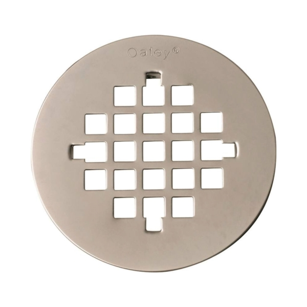 Picture of Oatey 42018 Tub Strainer, Stainless Steel, Brushed Nickel