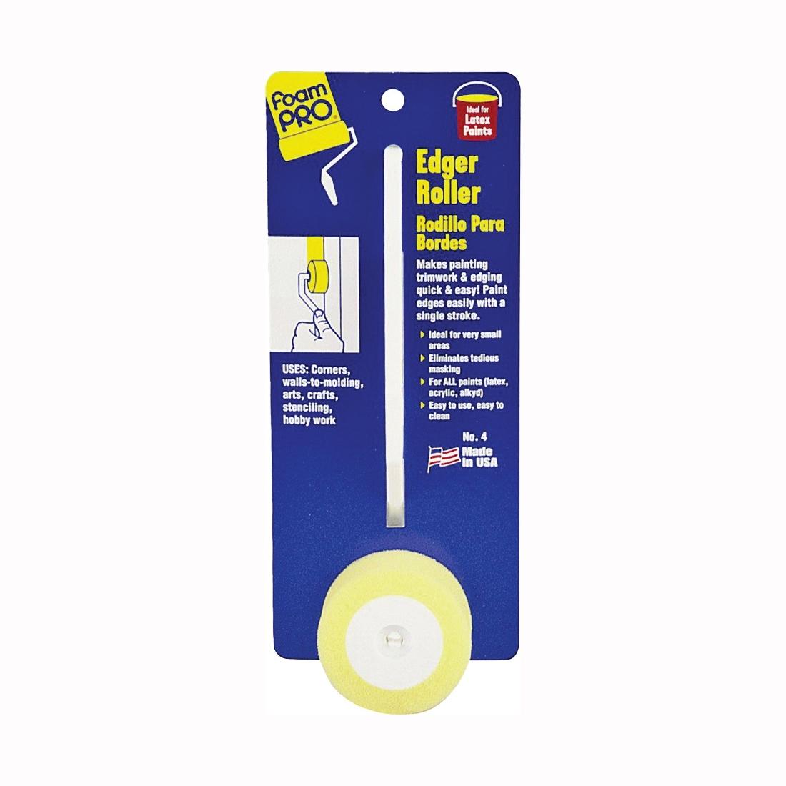 Picture of FOAMPRO 4 Edger Roller, 1/8 in W Pad, Foam Pad