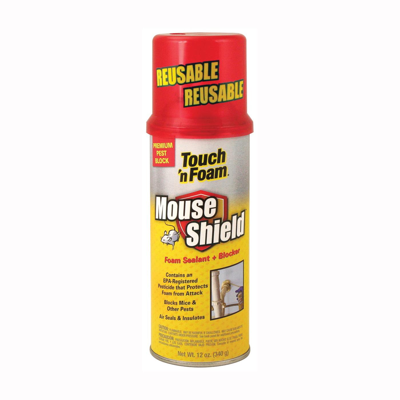 Picture of Touch 'n Foam 4001012506 Foam Sealant, Light Beige, 12 oz Package, Can