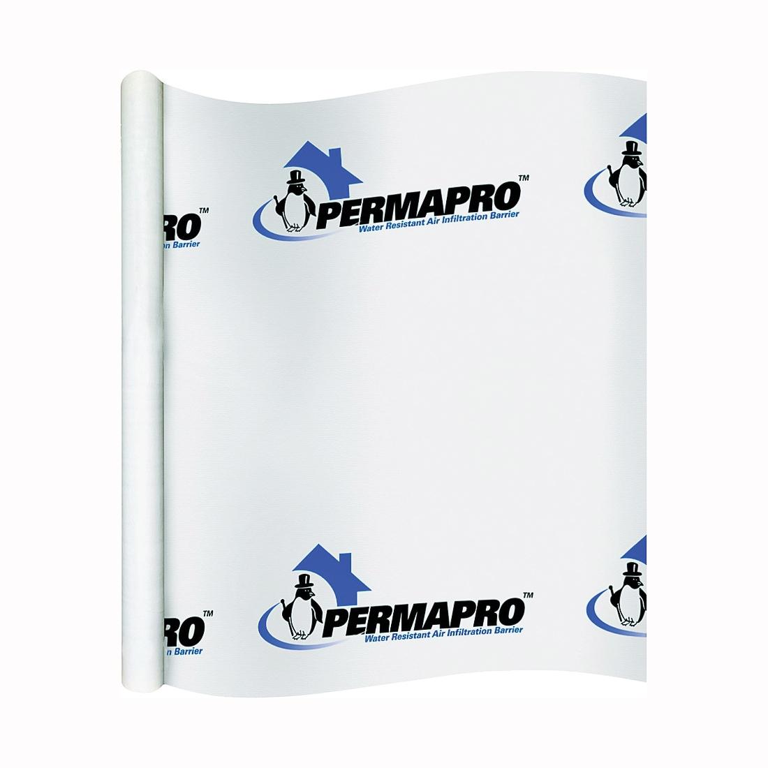 Picture of PermaPro 509100 PRO House Wrap, 100 ft L, 9 ft W, Polypropylene