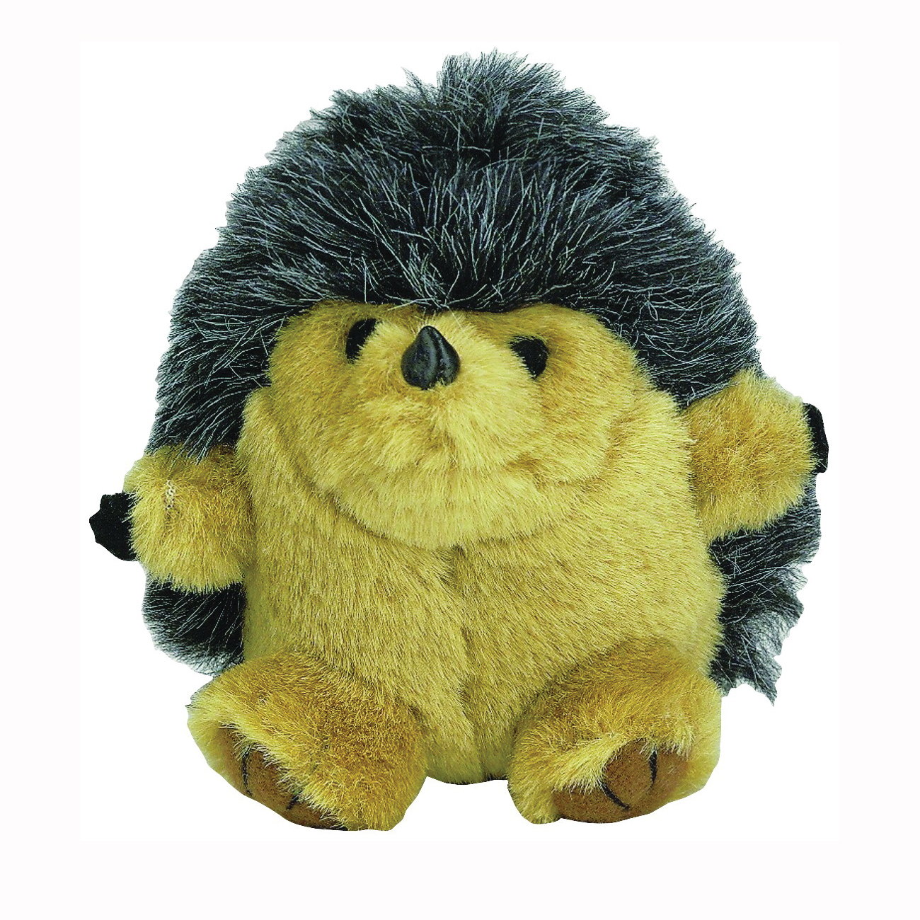 Picture of booda 53602 Squatters Plush Toy, M, Bitable Toy, Hedgehog, Synthetic Plush Fabric, Multi-Color