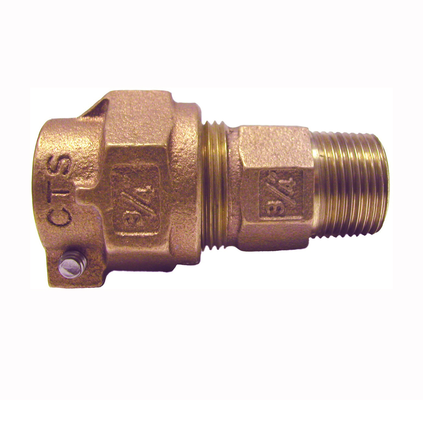 Picture of Legend T-4300NL Series 313-209NL Connector, 3/4 in Pack-Joint CTS, 1 in MNPT
