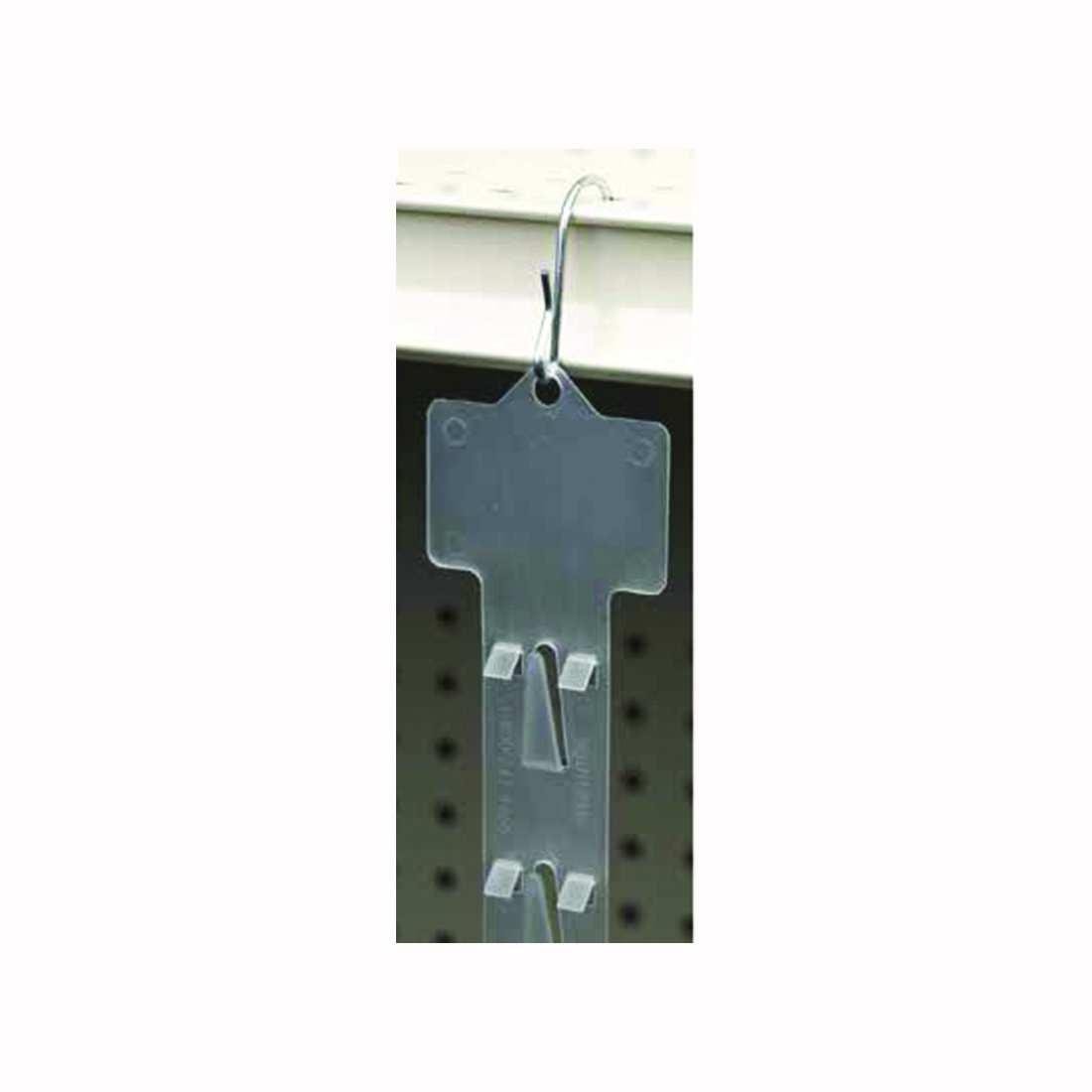 Picture of SOUTHERN IMPERIAL R16-12-WCS2-25B Clip Retailer, Polypropylene, Natural