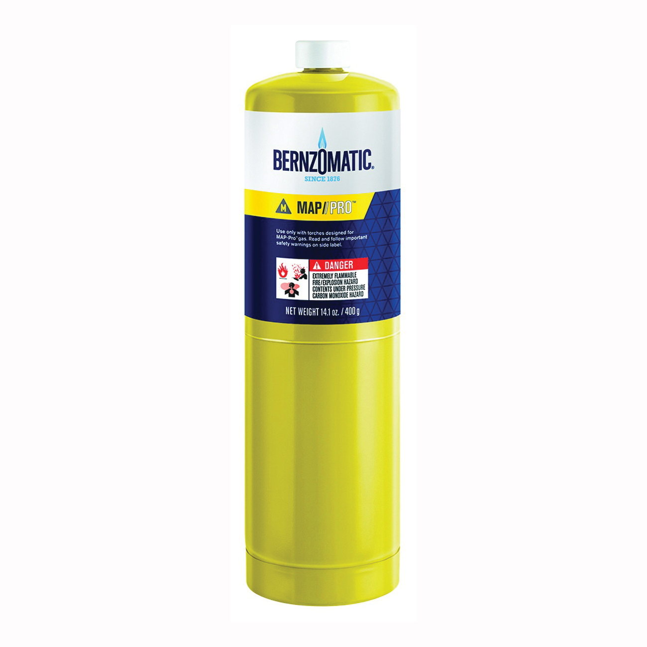 Picture of BernzOmatic MAP-PRO 332477 Hand Torch Cylinder, MAPP Gas, 14.1 oz Package