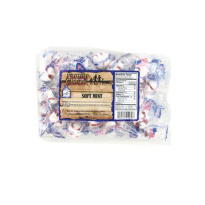 Picture of Family Choice 1269 Soft Sugar Candy, Mint Flavor, 7 oz Package