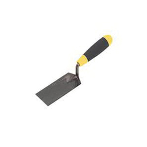 Picture of M-D 49120 Margin Trowel, 5 in L Blade, 2 in W Blade, Carbon Steel Blade, Ergonomic Handle, Hardwood Handle