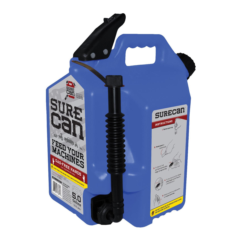 Picture of SUREcan SUR50K1 Kerosene Can, 5 gal Package, Blue