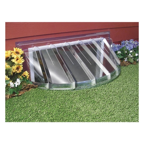 Picture of MACCOURT W4217-1 Window Well Cover, 17 in L, 42 in W, Plastic