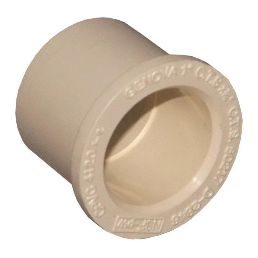 Picture of GENOVA 500 Series 50275 Pipe Bushing, 3/4 x 1/2 in, Spigot x Slip, 100 to 400 psi Pressure