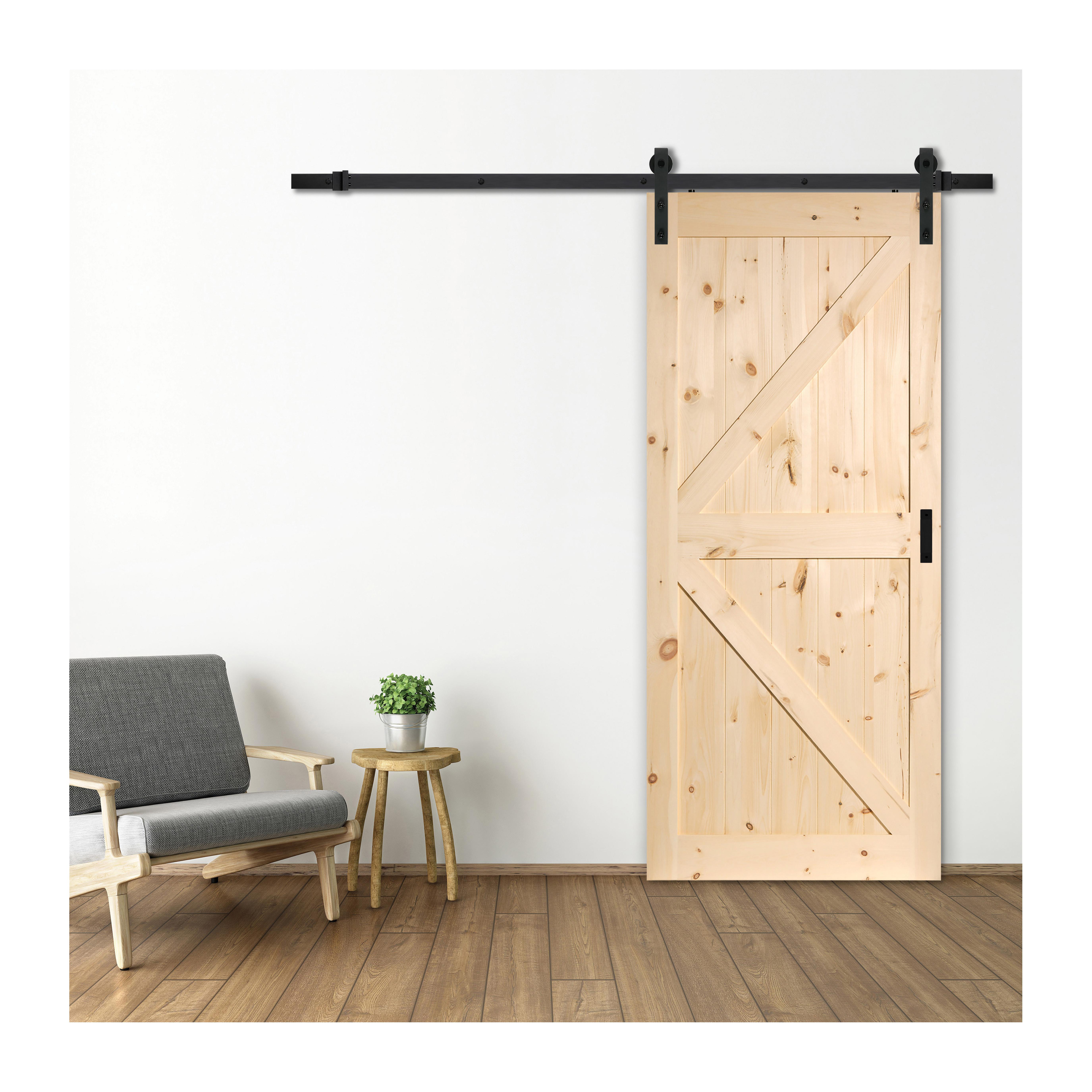 Picture of RENIN ES52-B1-PN-1PN-03 Barn Door, Pine Door