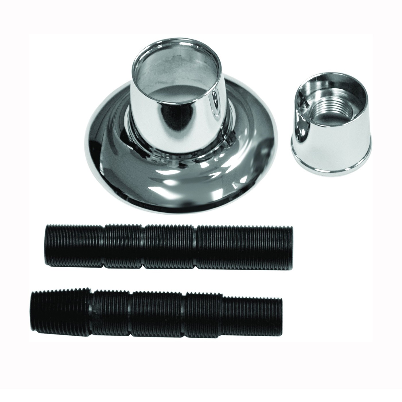 Picture of Danco 10311 Handle Flange, 1-1/8 in ID, 2-7/8 in OD, Brass/Metal/Plastic, Chrome