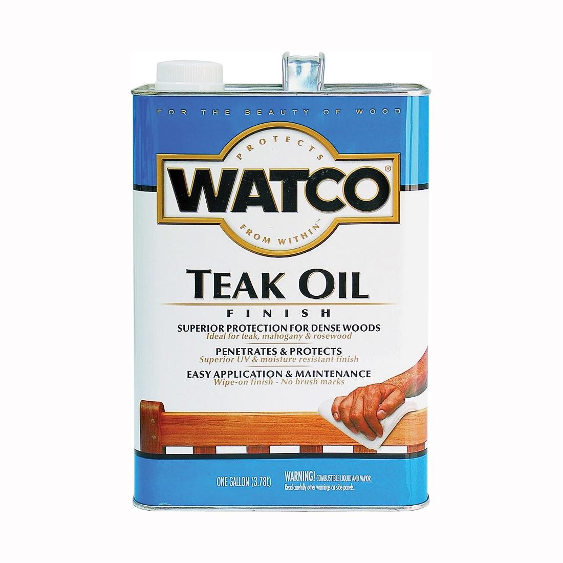 Picture of WATCO 67132 Teak Oil Finish, Liquid, 1 gal, Can