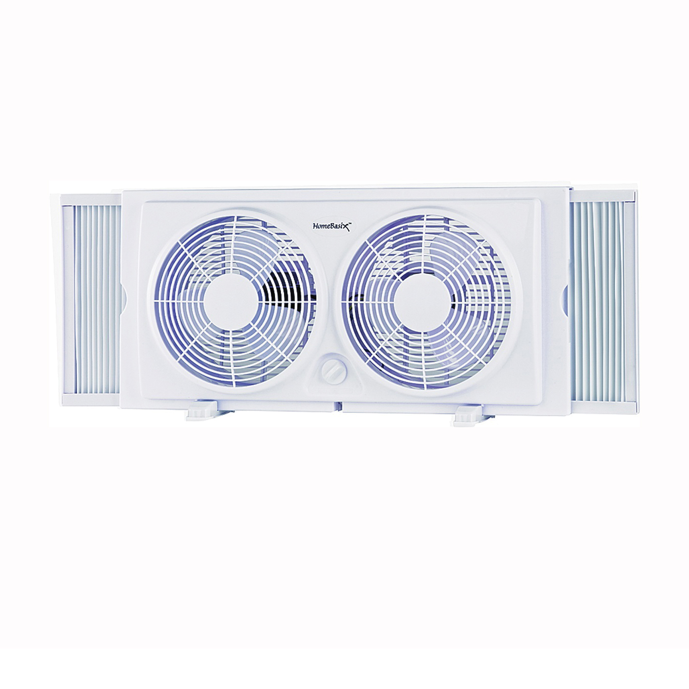 Picture of PowerZone F-5280A Window Fan, 7 in Dia Blade, 2-Speed, Side Speed Control, White