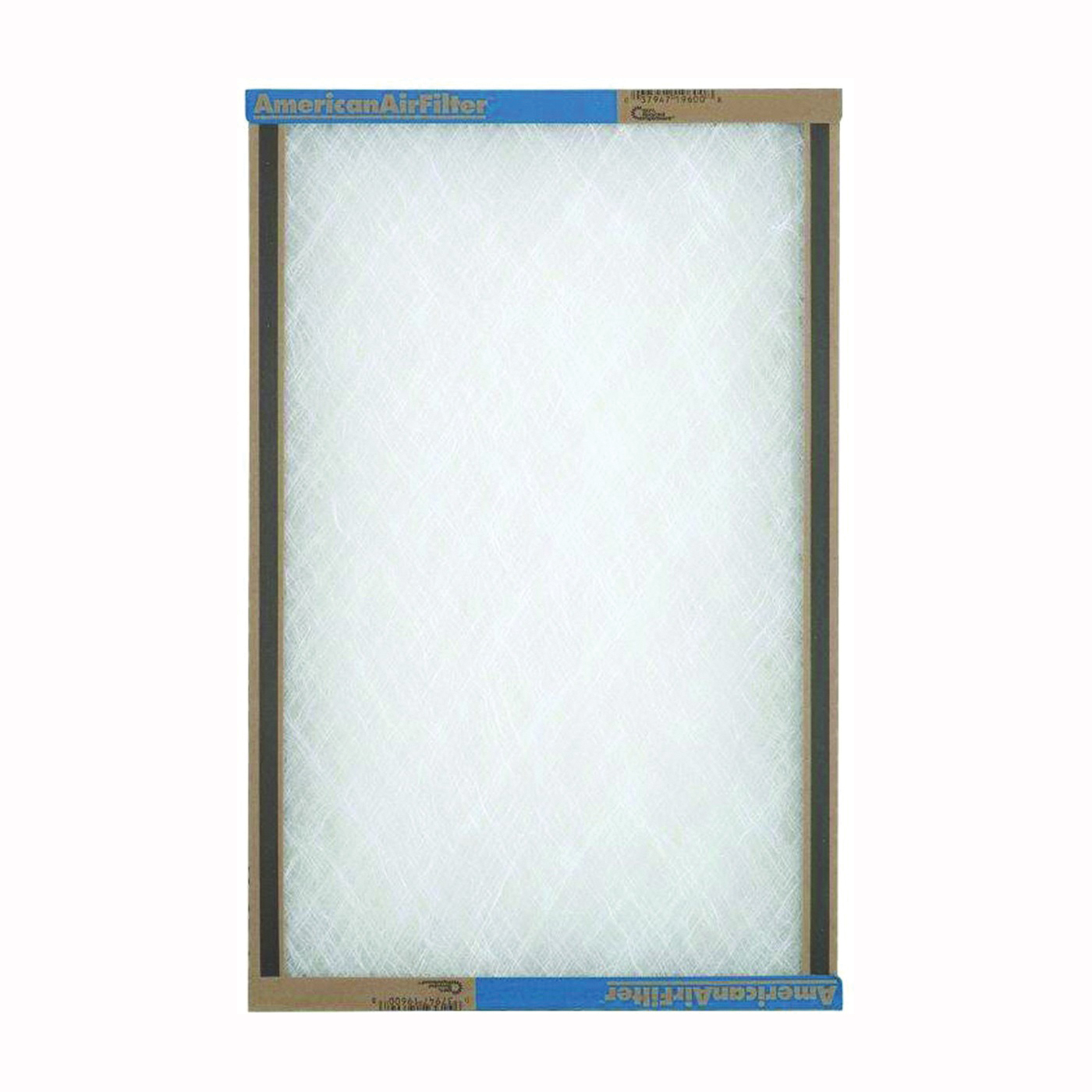 Picture of AAF 110201 Panel Filter, 20 in L, 10 in W, Chipboard Frame