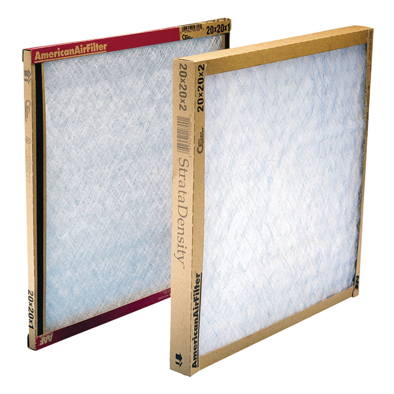Picture of AAF 120252-1 Panel Filter, 25 in L, 20 in W, Chipboard Frame