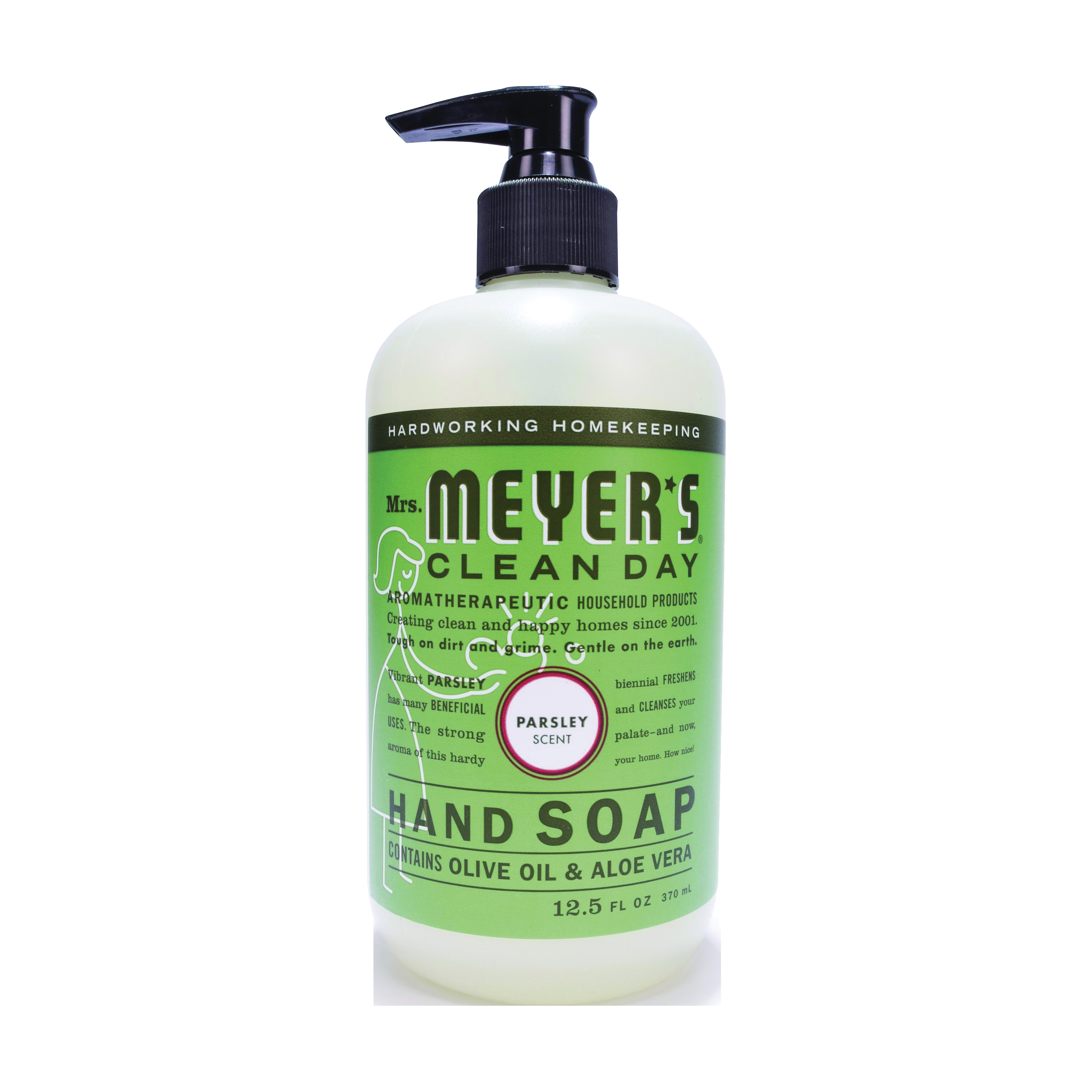 Picture of Mrs. Meyer's 17446 Hand Soap, Liquid, Parsley, 12.5 oz Package, Bottle