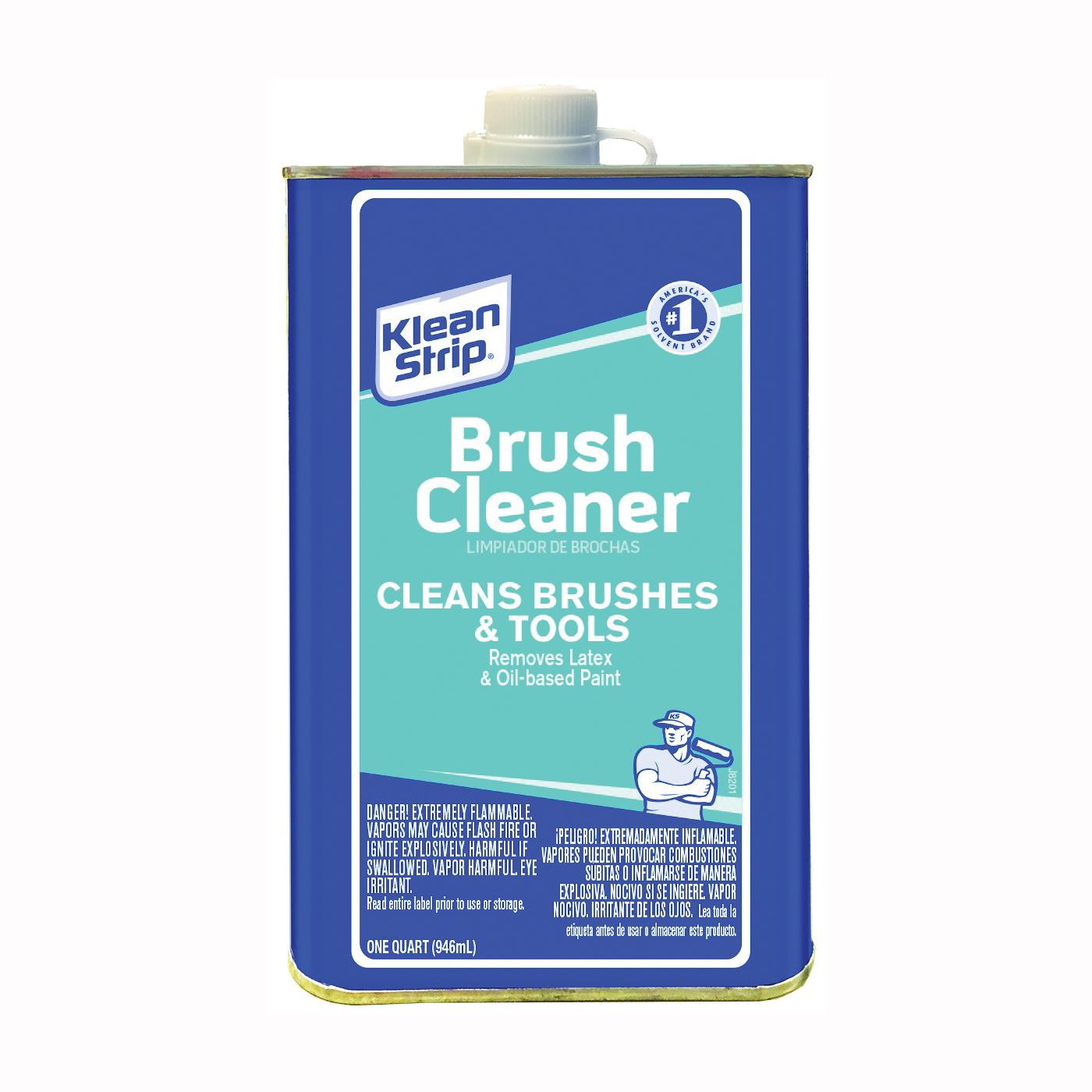 Picture of Klean Strip QBC12C Brush Cleaner, Liquid, 1 qt, Can