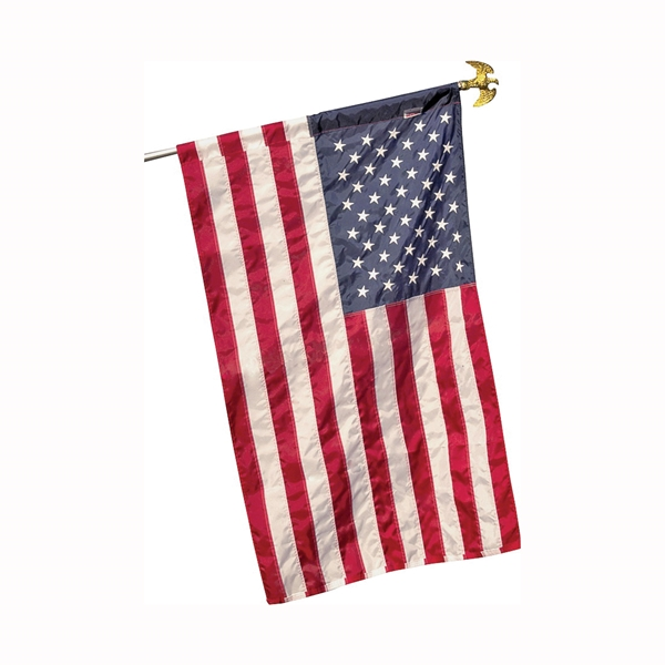 Picture of Valley Forge 60650 USA Flag, 2-1/2 ft W, 4 ft H, Nylon