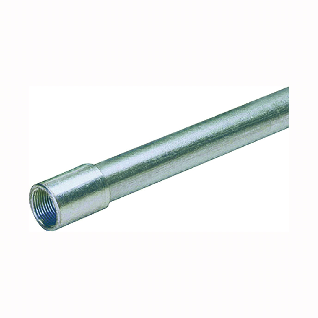 Picture of Allied Tube & Conduit 103069 Rigid Conduit, 1.05 in OD, 10 ft L, 3/4 in Trade, Galvanized Steel