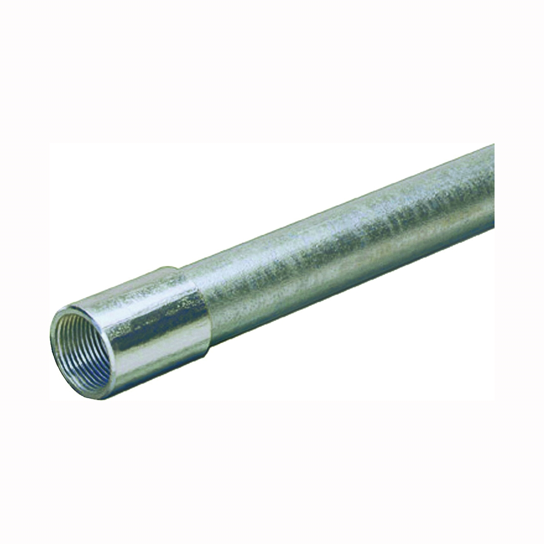 Picture of Allied Tube & Conduit 103077 Rigid Conduit, 1.315 in OD, 10 ft L, 1 in Trade, Galvanized Steel