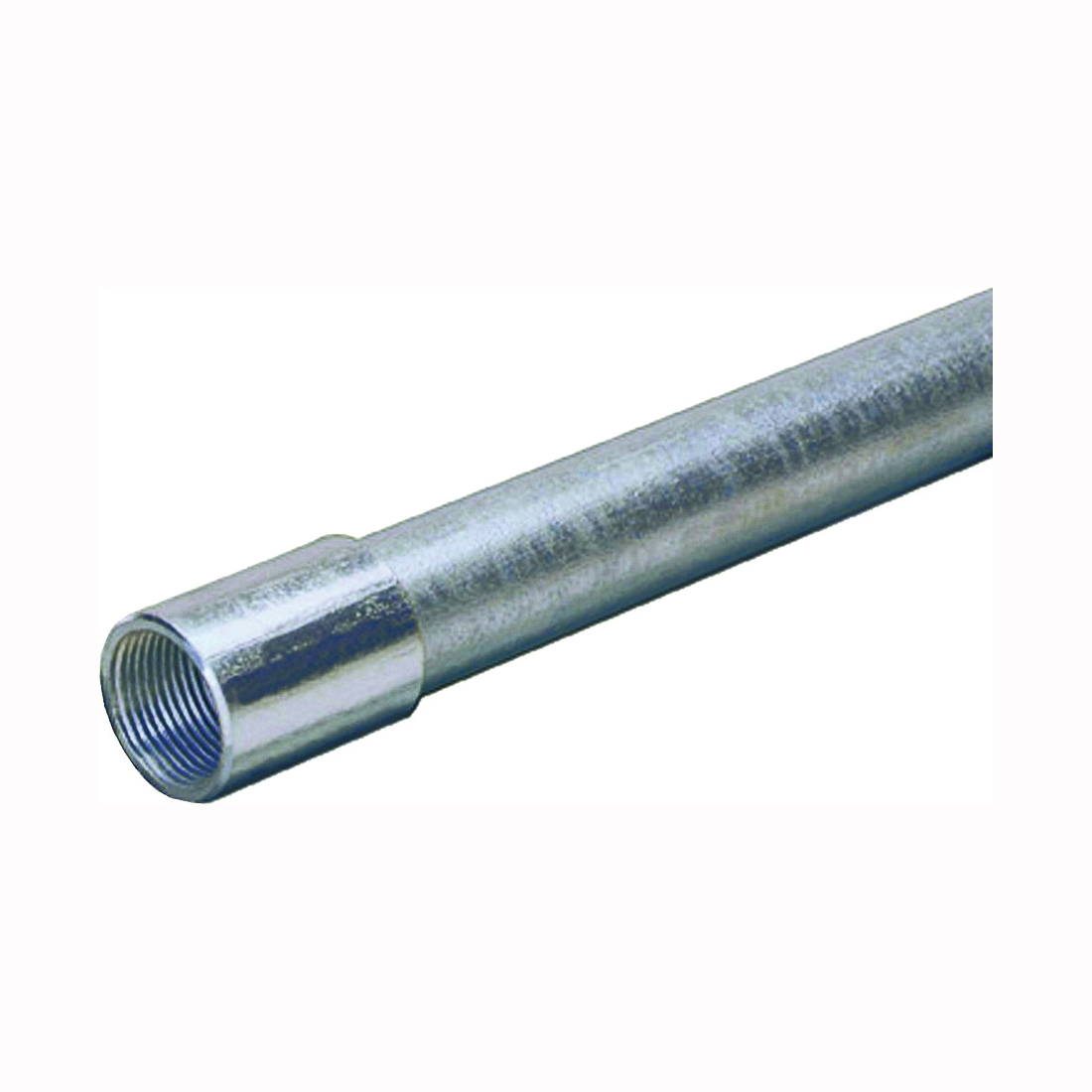 Picture of Allied Tube & Conduit 103085 Rigid Conduit, 1.66 in OD, 10 ft L, 1-1/4 in Trade, Galvanized Steel