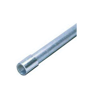 Picture of Allied Tube & Conduit 103093 Rigid Conduit, 1.9 in OD, 10 ft L, 1-1/2 in Trade, Galvanized Steel