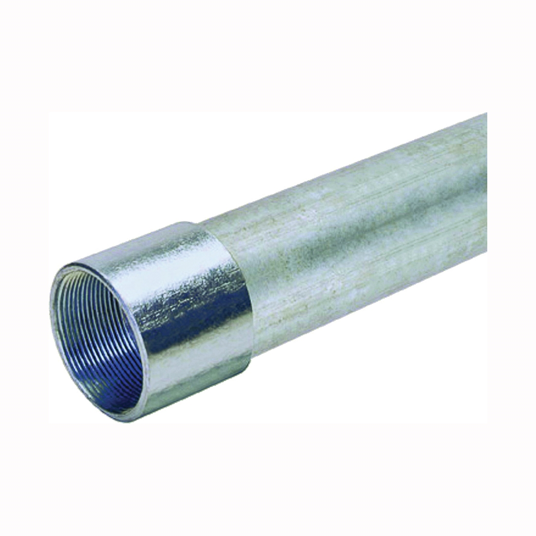 Picture of Allied Tube & Conduit 103101 Rigid Conduit, 2-3/8 in OD, 10 ft L, 2 in Trade, Galvanized Steel