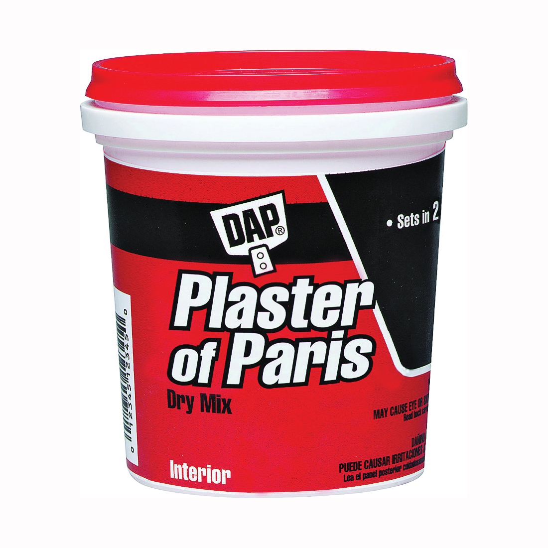 Picture of DAP 10310 Plaster of Paris, Powder, White, 8 lb Package, Tub