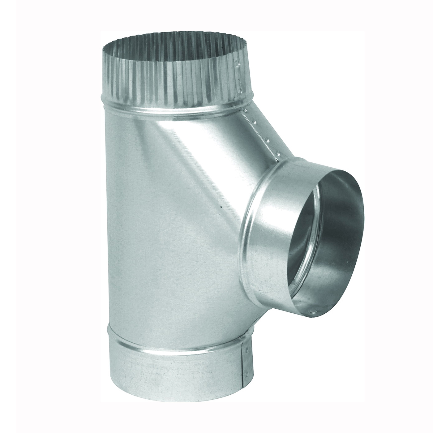 Picture of Imperial GV0900 Tee, 8 in, 28 Gauge, Galvanized Steel