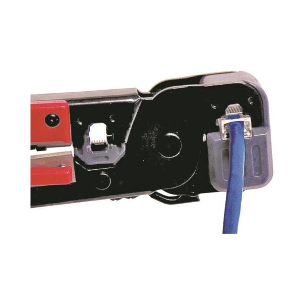 Picture of GB GMC-1145D Modular Plug Crimp Tool, 8 in OAL, Gripper Handle