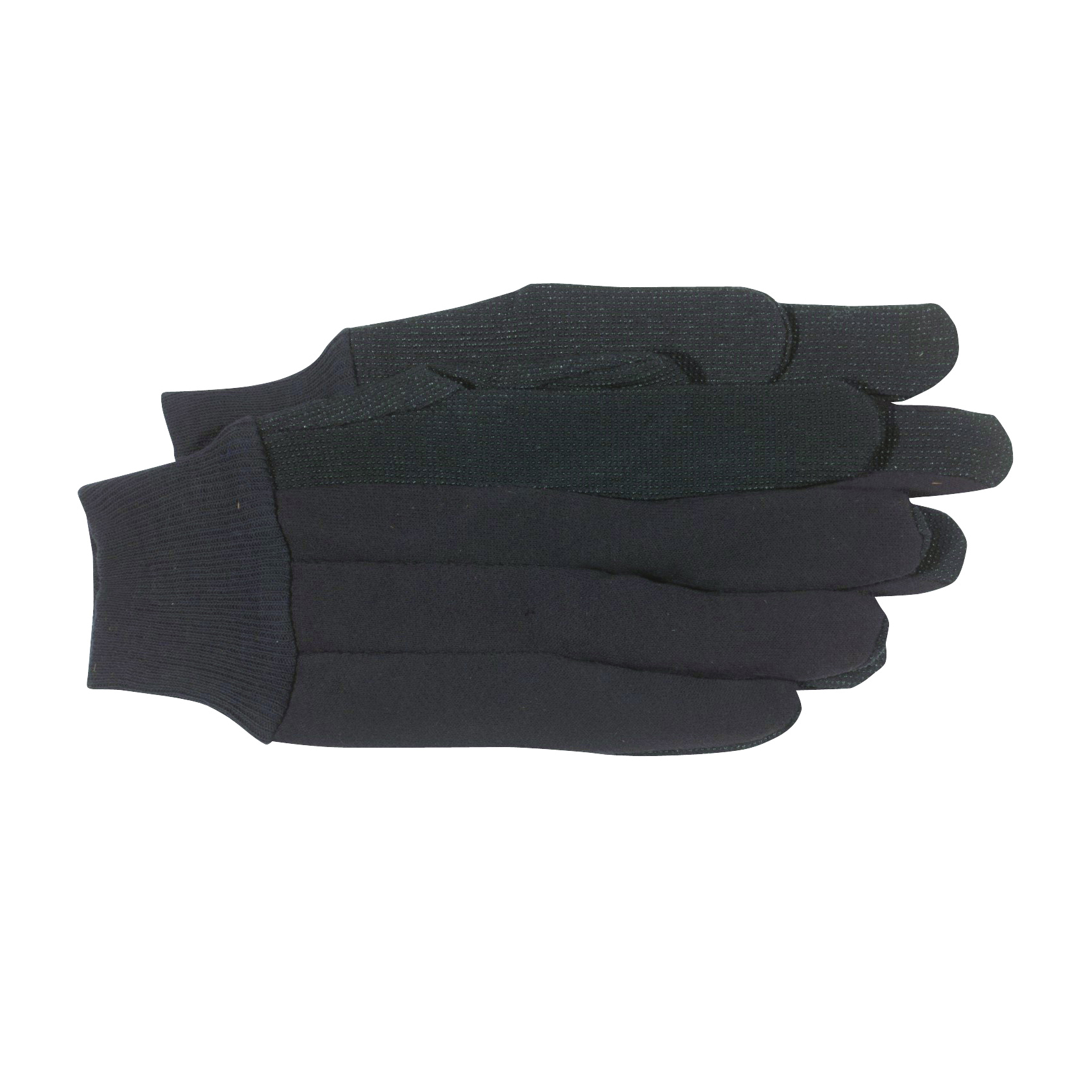 Picture of BOSS 4024L General-Purpose Protective Gloves, L, Knit Wrist Cuff, Cotton/Polyester, Brown
