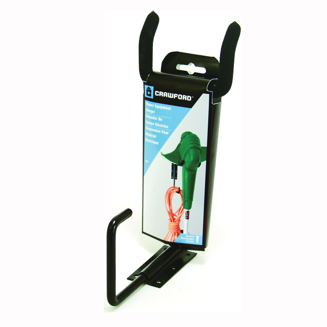 Picture of CRAWFORD CMPE-6 Power Tool Hanger, 35 lb, Carbon Steel, Black