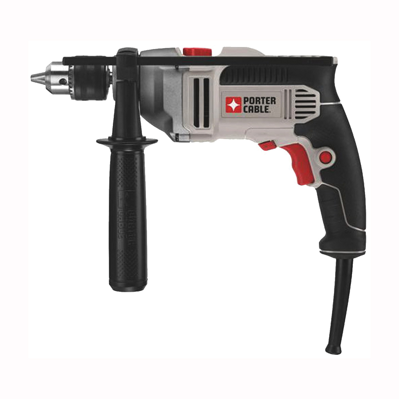 Picture of PORTER-CABLE PCE141 Hammer Drill, 7 A, 5/8 in Concrete, 1/2 in Steel, 1-1/4 in Wood Drilling, 1/2 in Chuck
